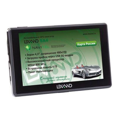 GPS навигатор Lexand SA4