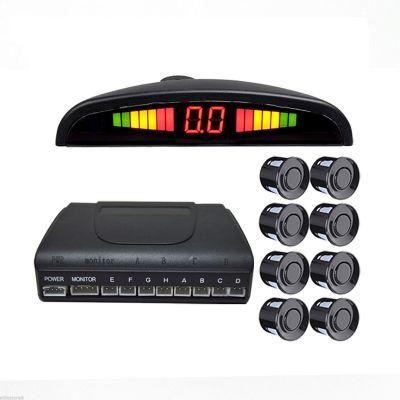 Парктроник LH-881A на 8 датчиков, черные