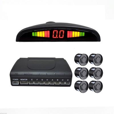 Парктроник KHD-661A на 6 датчиков, черные